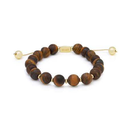 The Tiger's Eye Bracelet // Brown