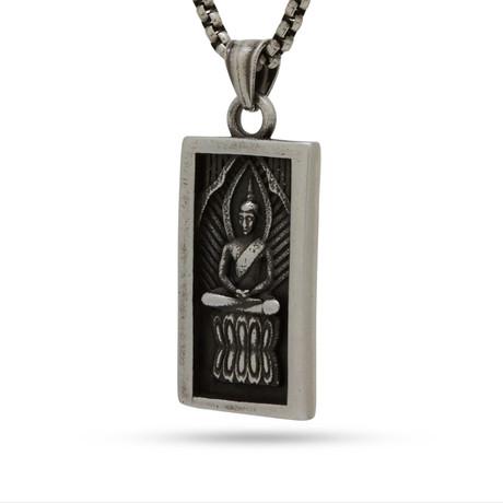 Dharma Necklace // Vintage Silver
