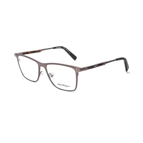 Men's SF2165-200 Optical Frames // Matte Brown