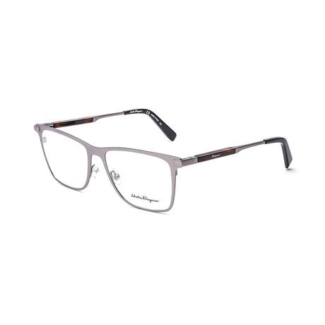 Men's SF2165-033 Optical Frames // Matte Gunmetal