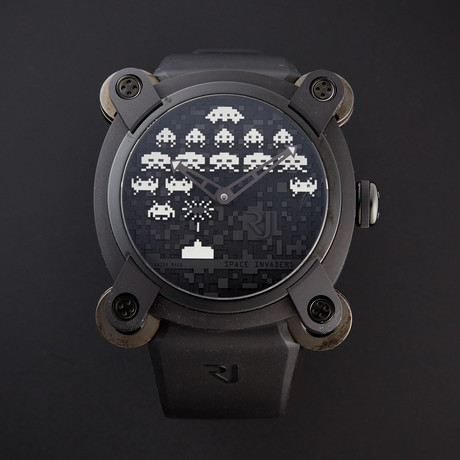 Romain Jerome Space Invaders Automatic // RJ.M.AU.IN.006.01 // Unworn