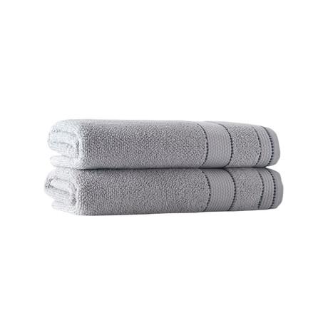 Beykoz // 2 Piece // Bath Towels (Anthracite)
