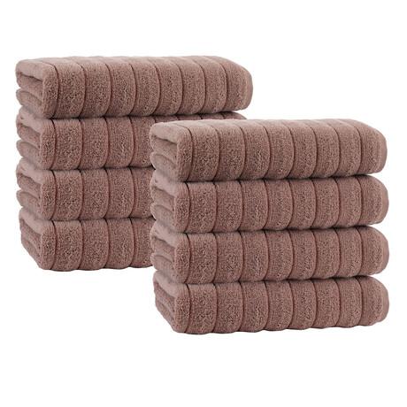 Adana // 8 Piece // Hand Towels (Anthracite)