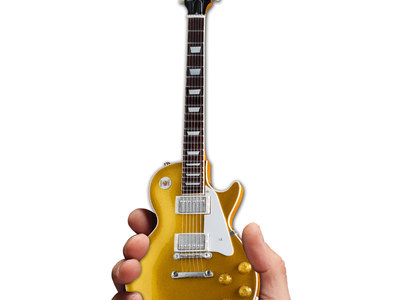 photo of Gibson 1957 Les Paul Gold Top Mini Guitar by Touch Of Modern