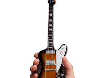 photo of Gibson Firebird V Vintage Sunburst Mini Guitar by Touch Of Modern