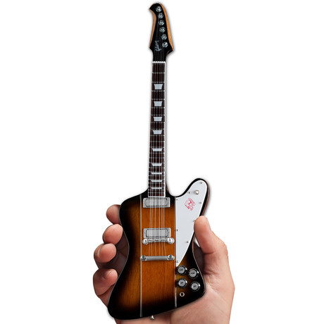 Gibson Firebird V Vintage Sunburst Mini Guitar