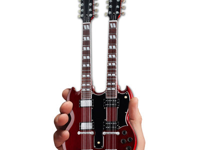 photo of Gibson SG EDS-1275 Doubleneck Cherry Mini Guitar by Touch Of Modern