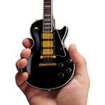 Gibson Les Paul Custom Ebony Mini Guitar Replica