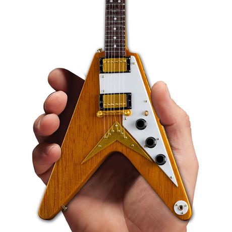 Gibson 1958 Korina Flying V Mini Guitar Replica