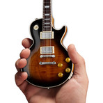 Gibson Les Paul TradiConal Tobacco Burst Mini Guitar Replica