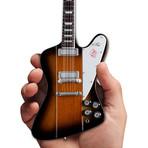 Gibson Firebird V Vintage Sunburst Mini Guitar Replica