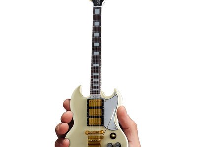 photo of Gibson 1964 SG Custom White Mini Guitar by Touch Of Modern