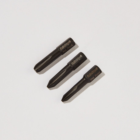 "KnifeEdge® Insert Bit Set // Phillips 1.35"" //  Set Of 3"