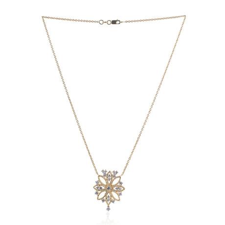 Roberto Coin 18k Two-Tone Gold Diamond Necklace