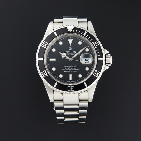 Rolex Submariner Automatic // 16610 // D Serial // Pre-Owned