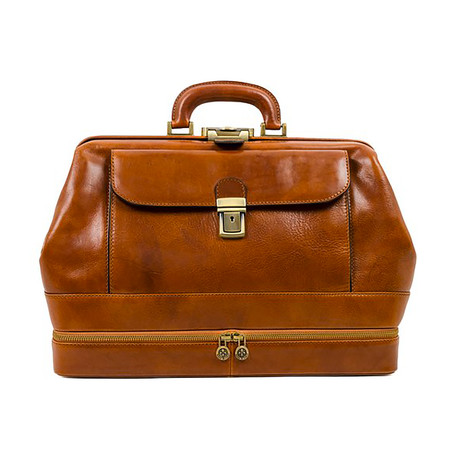The Master and Margarita // Leather Doctor Bag // Light Brown