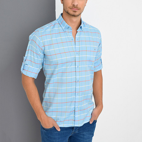Terrance Shirt // Blue (Small)