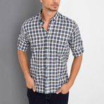 Tommie Button-Up Shirt // Brown (Small)