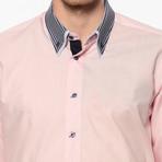 Daniel Button-Up Shirt // Pink (Small)
