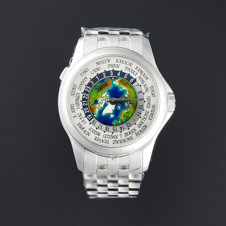 Patek Philippe Complications World Time Automatic // 5131/1P // New