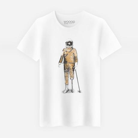 Astropirate T-Shirt // White (S)