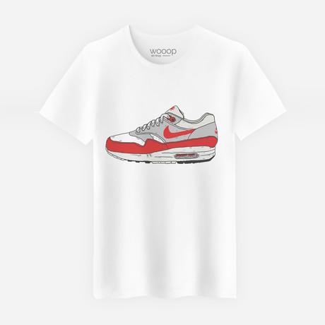 Og Air Max T-Shirt // White (S)