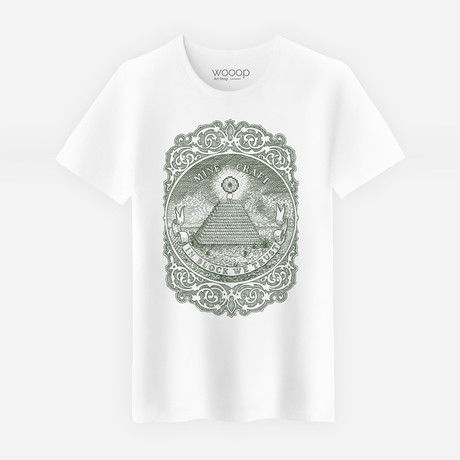 In Block We Trust T-Shirt // White (S)