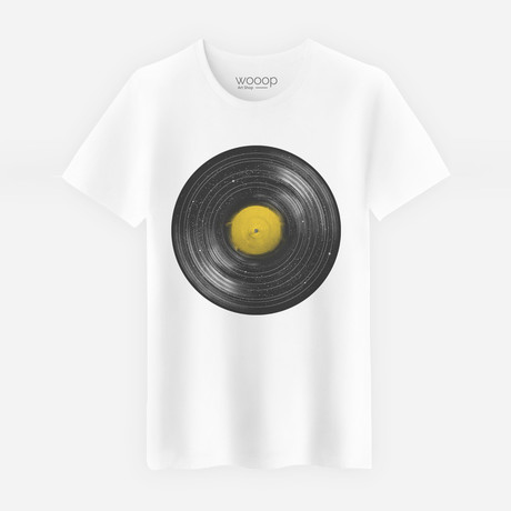 Sound System T-Shirt // White (S)