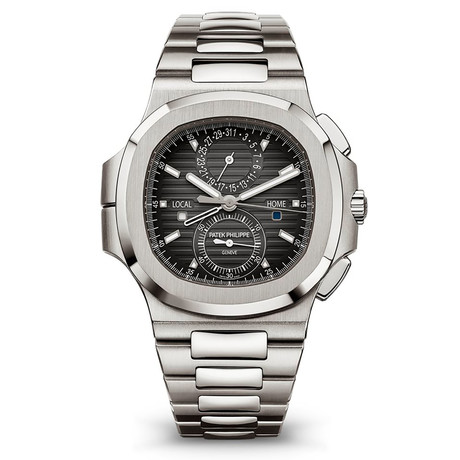 Patek Philippe Nautilus Travel Time Chronograph Automatic // 5990/1A // New