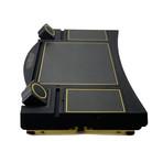 Aeon Gold // Lagio Desk (Black Leather)