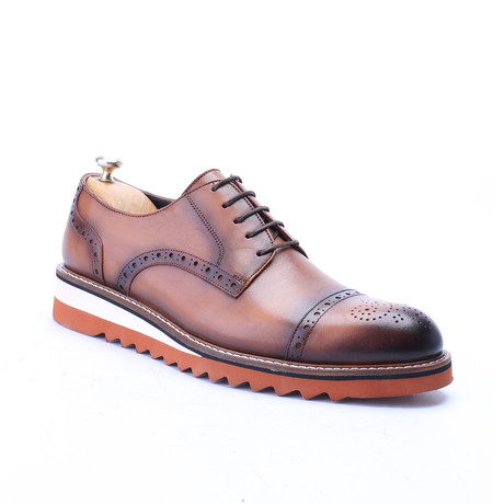 Pavel Dress Shoes // Tobacco (Euro: 39)