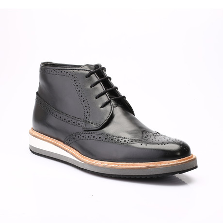 Ackston Derby Dress Shoes // Black Antique (Euro: 39)