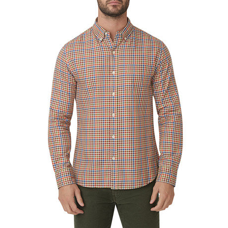 Colfax Tattersall Button Down Shirt // Multicolor (S)