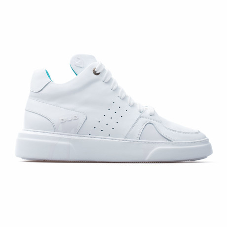 Mid Top Sneaker // White (Euro: 39)
