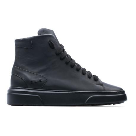 High Top Sneaker I // Black (Euro: 39)