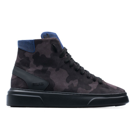 High Top Sneaker // Anthracite Camo (Euro: 39)