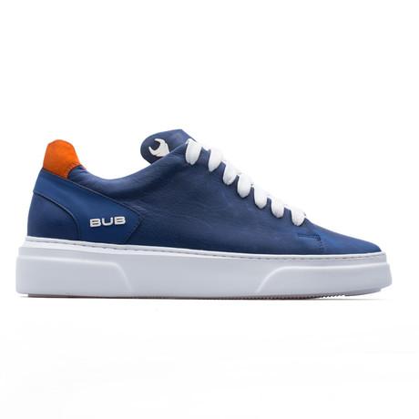 Low Top Sneaker // Saks Blue + Orange (Euro: 39)