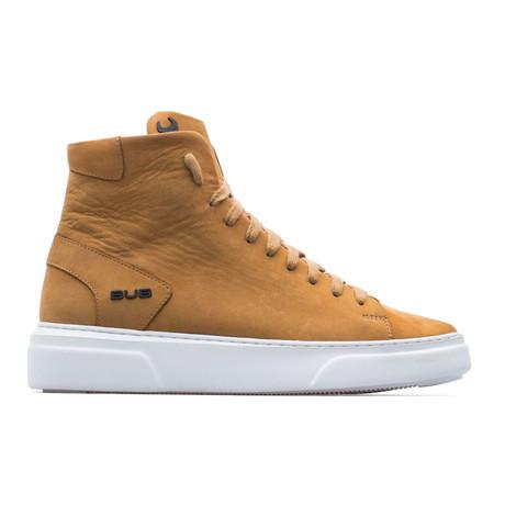 High Top Sneaker // Tobacco (Euro: 39)