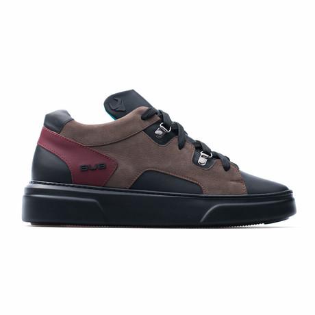 Low Top Sneaker // Black + Brown (Euro: 39)