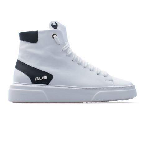 High Top Sneaker // White (Euro: 39)
