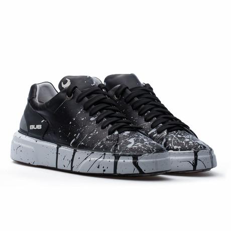 Low Top Sneaker // Black + White (Euro: 39)