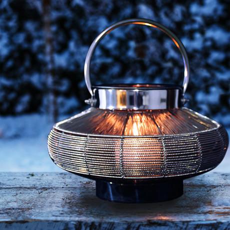 Anywhere Fireplace Mercury // 2-in-1 Fireplace/Lantern + 12-Pack SunJel Fuel