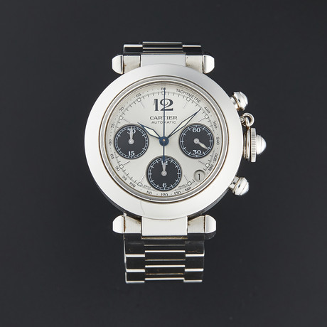 Cartier Pasha Chronograph Automatic // W31048M7 // Pre-Owned