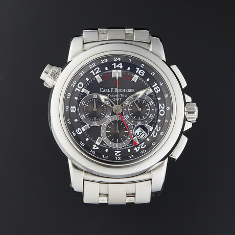 Carl F. Bucherer PatraviTravelTec Chronograph Automatic // 00.10620.08.33.21 // Pre-Owned