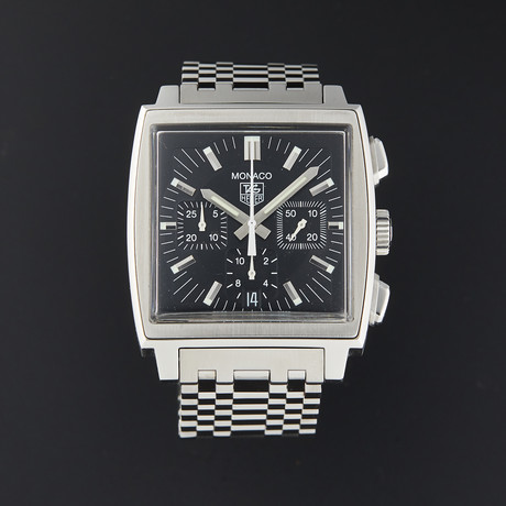 Tag Heuer Monaco Chronograph Automatic // CW2111-0 // Pre-Owned