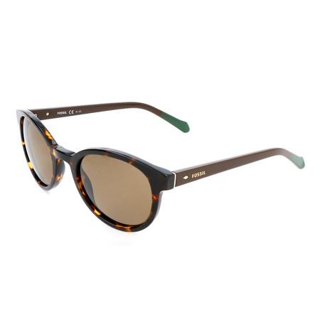 Men's Frank Sunglasses // Havana Brown