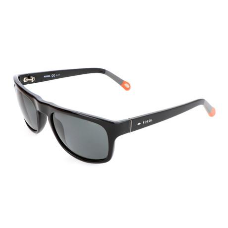 Men's Hopkins Sunglasses // Shiny Black