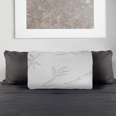 Adjustable Bamboo Memory Foam Pillow (Queen)