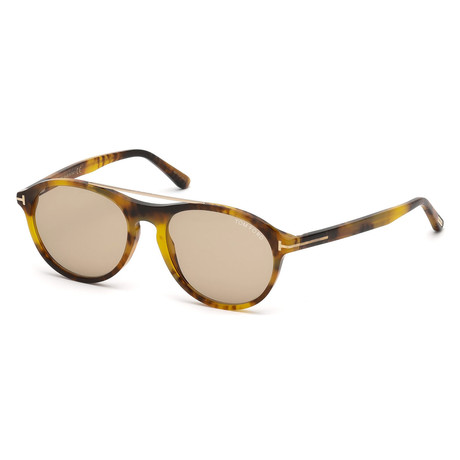 Unisex Cameron FT0556 Sunglasses // Brown