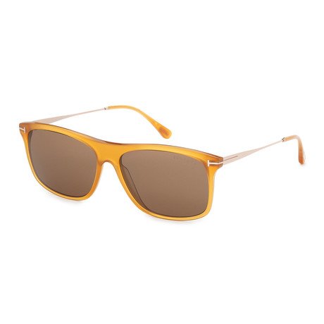 Men's Max FT0588-39J Sunglasses // Shiny Yellow + Roviex